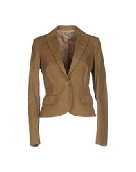 Trussardi Suits And Jackets Blazers Women Military Green