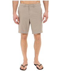 Tommy Bahama Cayman Isles 9 Inch Hybrid Swim Trunk Walkabout Khaki Men's Shorts Multi