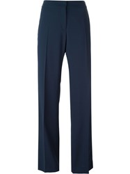 No21 Stripe Detail Trousers Blue