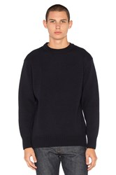Filson Crewneck Guide Sweater Navy