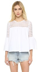 Endless Rose Boho Blouse White