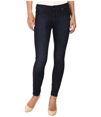 Liverpool Piper Hugger Ankle In Blackout Blue Blackout Blue Women's Jeans