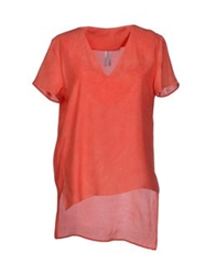 Ready To Fish Blouses Coral