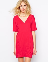 Supertrash Dallas Dress In Tomato Red Tomatored