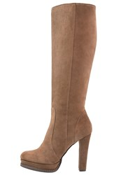 Mai Piu Senza High Heeled Boots Brown