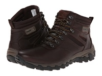 Rockport Cold Springs Plus Plain Toe Boot 7 Eye Chocolate Leather Smooth Men's Boots Brown