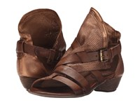 Miz Mooz Cassidy Bronze Women's Sandals