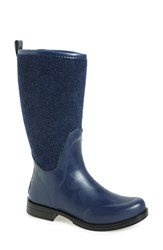 Uggr Women's Ugg Reignfall Waterproof Rain Boot Navy