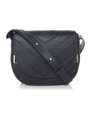 Nica Mila Black Cross Body Bag Black