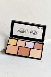 Nyx Strobe Of Genius Palette Pure Gold