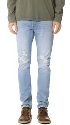 Earnest Sewn Bryant Slouchy Slim Jeans Cloister