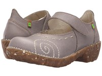 El Naturalista Yggdrasil N095 Grey Women's Maryjane Shoes Gray