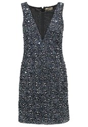 Lace And Beads Picasso Cocktail Dress Party Dress Black