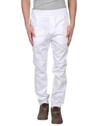 Frankie Morello Casual Pants White