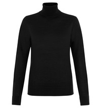 Hobbs Lara Roll Neck Black