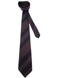 Fendi Vintage Patterned Tie Multicolour