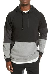Rvca Men's 'Escobar' Colorblock Hoodie