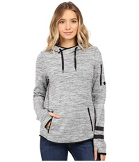 Hurley Phantom Pullover Dark Grey Heather Women's Long Sleeve Pullover Gray