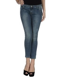 Pf Paola Frani Denim Pants Blue