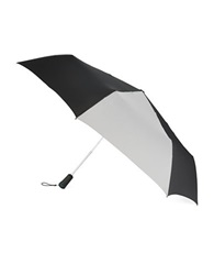 Totes Golf Umbrella Black Grey