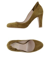 Nora Pumps Military Green