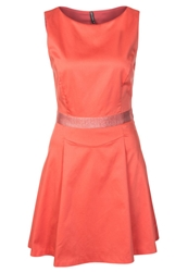 Naf Naf Cocktail Dress Party Dress Corail Coral