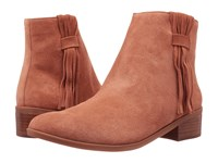 Bella Vita Fern Camel Suede Leather Women's Pull On Boots Brown