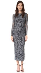 Just Cavalli Lace Dress Silver
