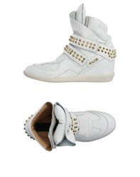 Cesare Paciotti 4Us Footwear High Tops And Trainers Women White