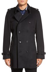 Burberry Men's Brit Kensington Wool And Cashmere Trench Coat