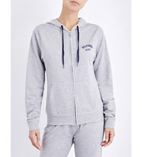 Tommy Hilfiger Iconic Brand Logo Cotton Blend Hoody Grey Heather