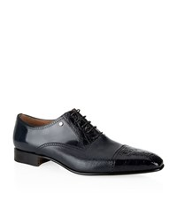 Stemar Toe Cap Croc And Leather Oxford Male