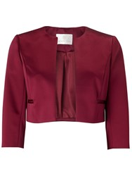 Jacques Vert Petite Sateen Jacket Purple
