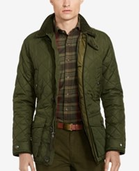 Polo Ralph Lauren Men's Diamond Quilted Jacket Curdory Green