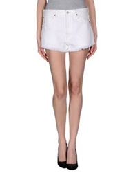 Denim And Supply Ralph Lauren Denim Shorts White