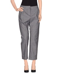 Rose' A Pois Casual Pants Grey