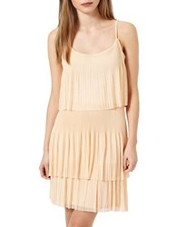 Miss Selfridge Layered Popover Dress Natural