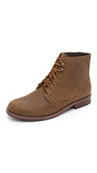 Eastland 1955 Edition Elkton 1955 Plain Toe Boots Dark Khaki Distressed Suede