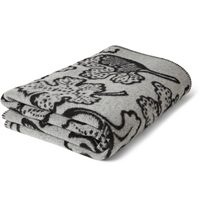 Burberry Prorsum Patterned Wool And Cashmere Blend Blanket Mr Porter