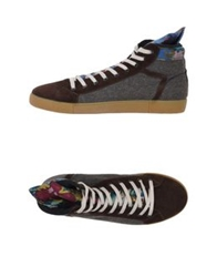 Springa High Tops And Trainers Dark Brown