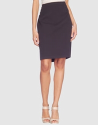 Piazza Sempione Knee Length Skirts Blue