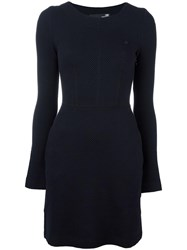 Love Moschino Fitted Dress Blue