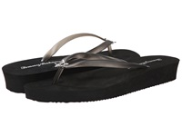Tommy Bahama Whykiki Wedge Solid Black Women's Wedge Shoes