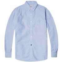 Spellbound Button Down Oxford Shirt Blue