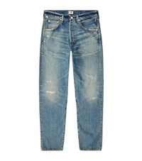 Citizens Of Humanity Rowan Destroyed Relaxed Fit Jeans Male Blue