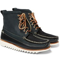 Bass Weejuns Ranger Moc Ii Suede Nubuck And Leather Boots