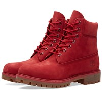 Timberland 6 Premium Boot Red
