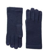 Echo Picot Touch Gloves Navy Extreme Cold Weather Gloves