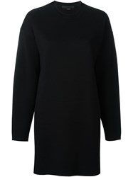 Alexander Wang Round Neck Sweatshirt Black