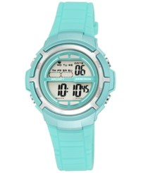 Armitron Women's Digital Teal Strap Watch 38Mm 45 7045Tlgd